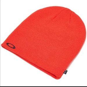 🆕 Oakley Fine Knit Beanie Flare Orange